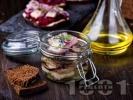 Рецепта Домашна солена херинга с олио в буркани